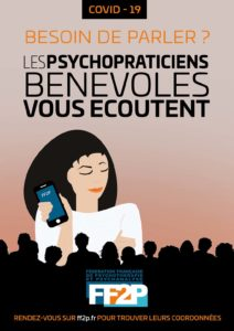 BESOIN DE PARLER ? LES PSYCHOPRATICIENS BENEVOLES VOUS ECOUTENT - FF2P